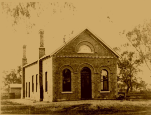 Oxley Shire Hall 1875